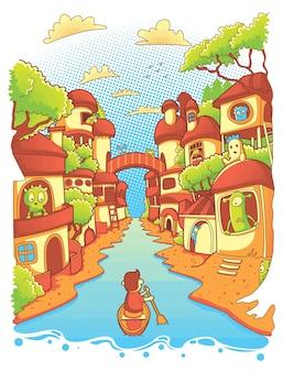 Voyage au village des monstres