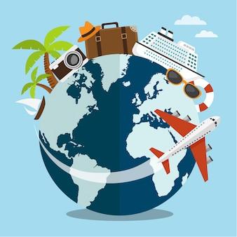 Voyage autour du monde