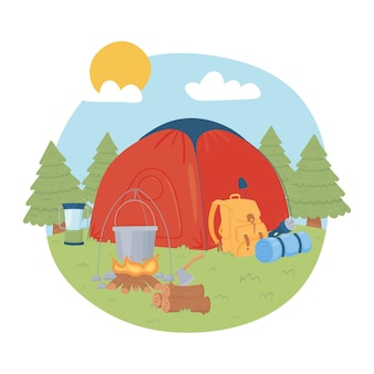 Voyage d'aventure en camping
