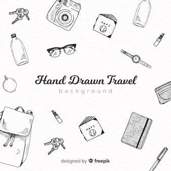 Voyage dessiné à la main