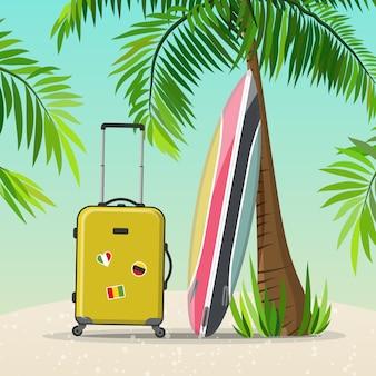 Voyage de vacances d'été