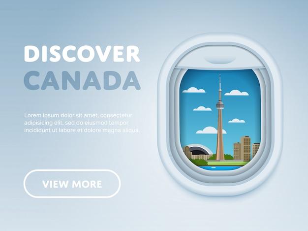 Voyager en avion, repères dans la fenêtre,