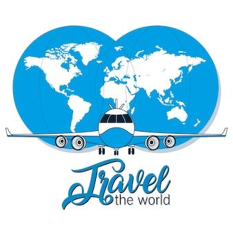Voyager à travers le monde