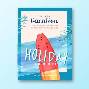 Voyager en vacances été la plage palmier vacances, mer et ciel