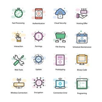 Vpn et icônes de mise en réseau
