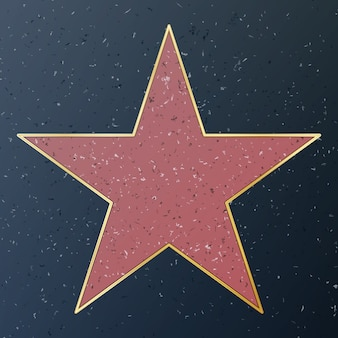 Walk of fame d'hollywood