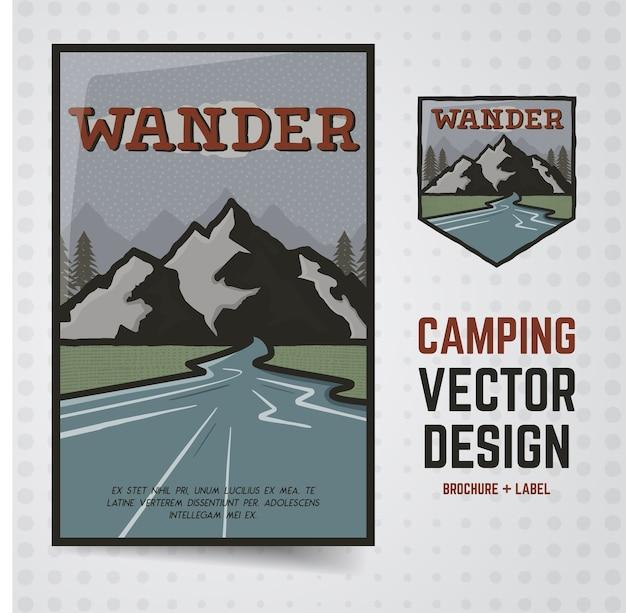 Wander illustration extérieure