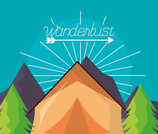 Wanderlust explore le paysage