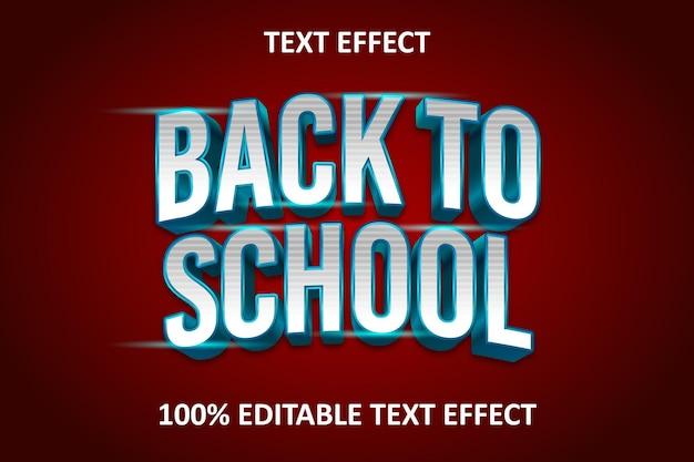 Warp elegant effet de texte modifiable rouge bleu argent