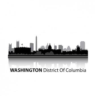 Washington design skyline