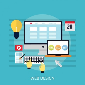 Web design background