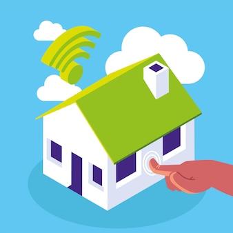 Wi-fi maison intelligente