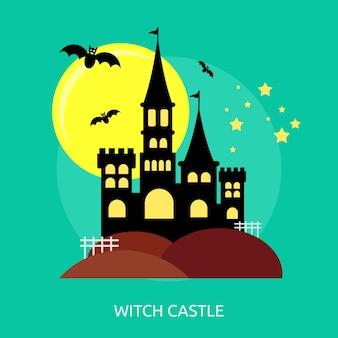 Witch castle conceptual design