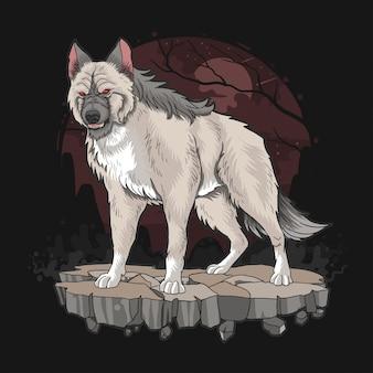 Wolf beast dog fierce