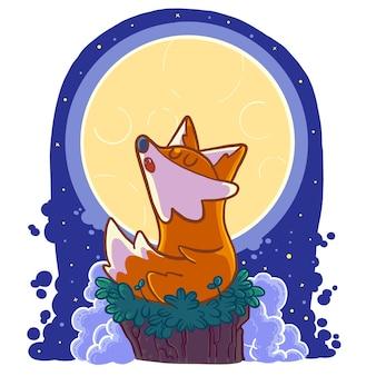 Wolf dans la lune