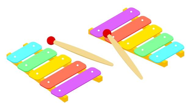 Xylophone isométrique