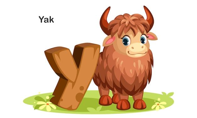 Y pour yak