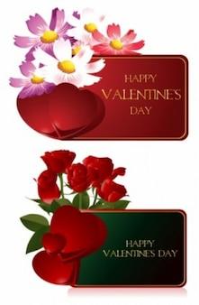 Y ranger les cartes de voeux de valentine