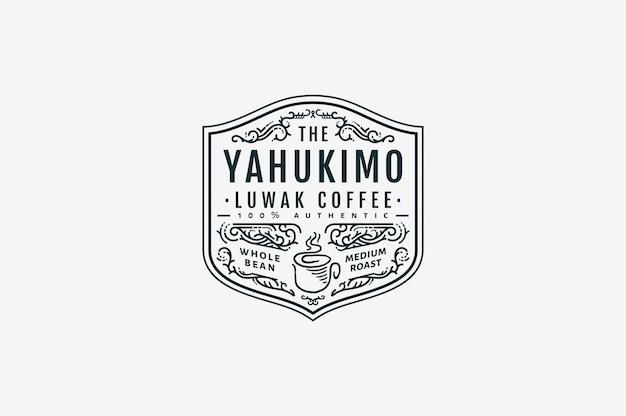 Yahukimo luwak coffee café bw