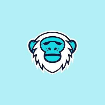 Yeti logo prêt à l'emploi