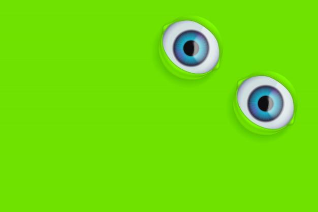 Les yeux sur le vert