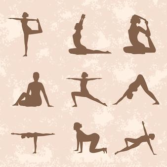 Yoga neuf poses
