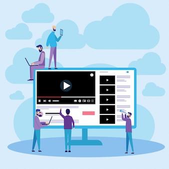 Youtube web en ligne streaming vidéo