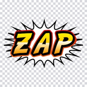 Zap comic style pop art