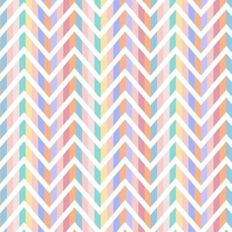 Zig zag motif de lignes minimales