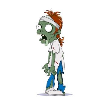 Zombie aux cheveux roux