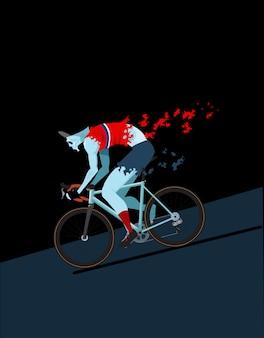 Zombie cycliste