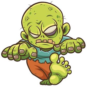 Zombie dessin animé