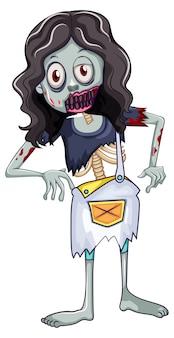 Un zombie féminin