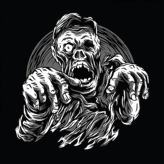 Zombie en marche