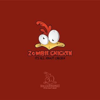 Zombie poulet logo