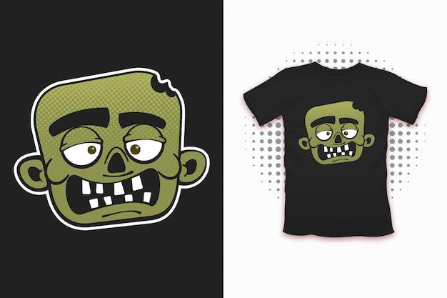 Zombie print pour la conception de t-shirts