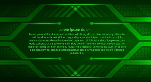 Zone de texte, modèle de bannière internet des objets cyber sécurité technologie