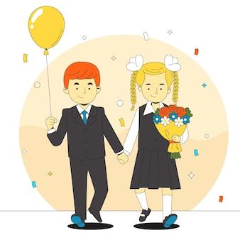 1 de septiembre ilustración