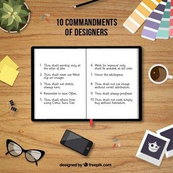Los 10 mandamientos del diseñador