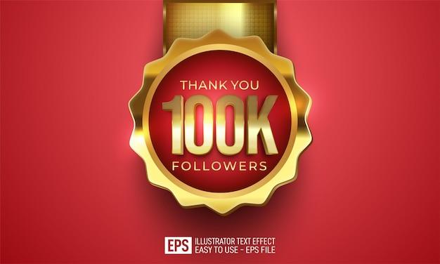 100.000 seguidores y conexiones de redes sociales editables