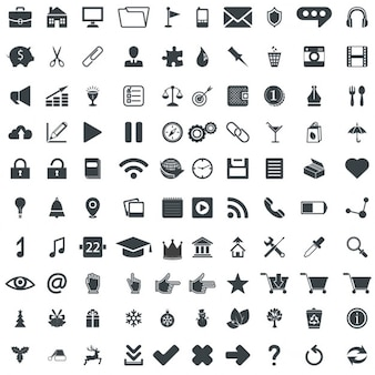 100 iconos universales