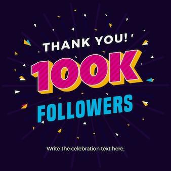 100k seguidores banner