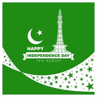 14 de día de agosto independencia de pakistán
