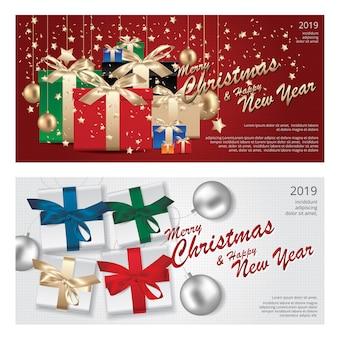 2 banner feliz navidad