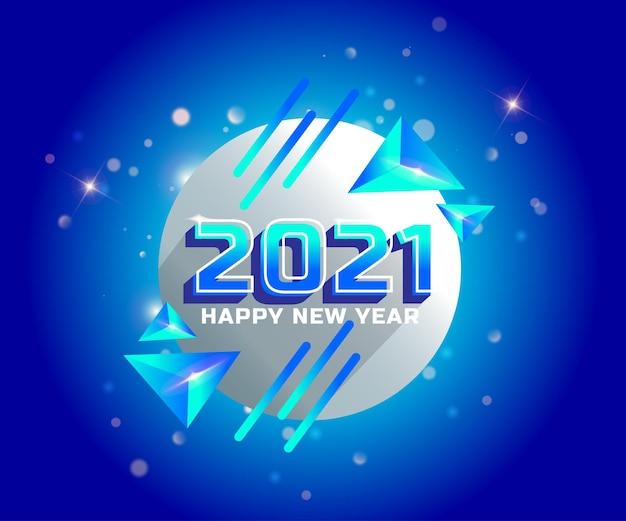 2021 feliz año nuevo fondo de vacaciones