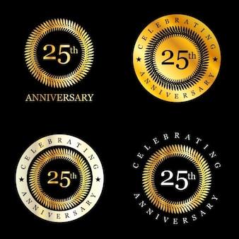 25 años de celebración de corona de laurel