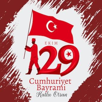 29 ekim nacional independencia turca