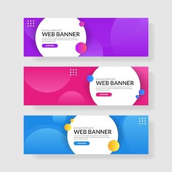 3 establecer banner con degradados simples