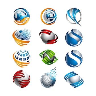 Bola de espejos fotos y vectores gratis for Conjunto espejos redondos