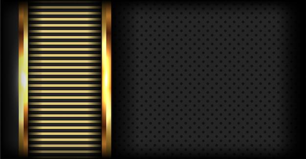 3d superposición lujoso fondo oscuro abstracto
